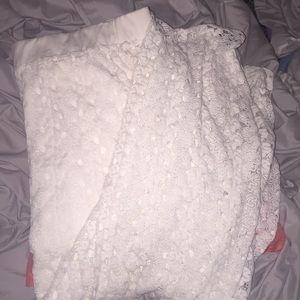 NWOT Maurice's White Maxi Skirt